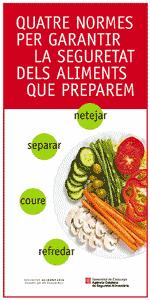 Quatre normes seguretat alimentària