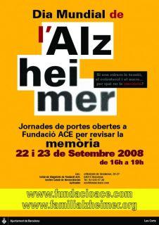 Cartell Dia Mundial Alzheimer 2008