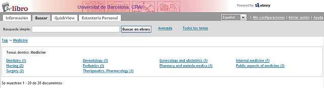 subtemes ebrary Medicine
