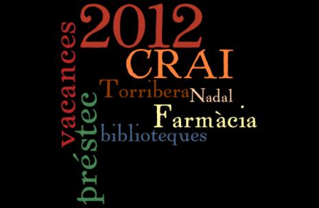 Vacances Nadal 2012