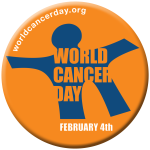 World Cancer Day Logo http://www.worldcancerday.org/