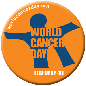 World Cancer Day Logo http://www.worldcancerday.org/
