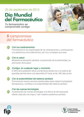 Dia Mundial del Farmacèutic 2013