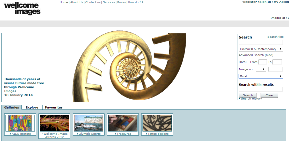 Imatge: captura de pantalla de l'inici del lloc