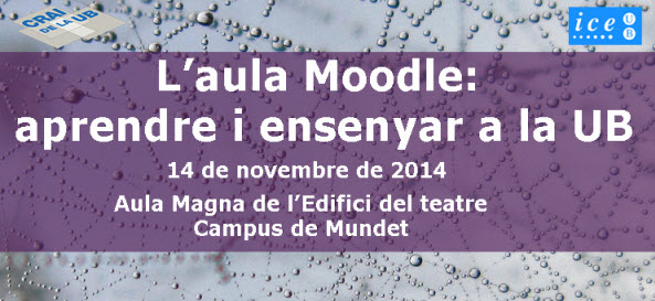 Jornada Moodle CRAI ICE 2014